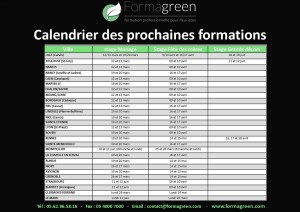 calendrier formation fleuristes formagreen 2018