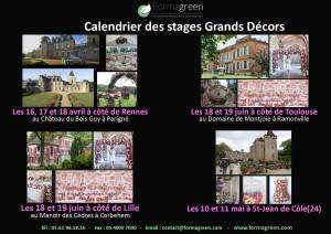 stage et formation courte fleuriste grands decors formagreen